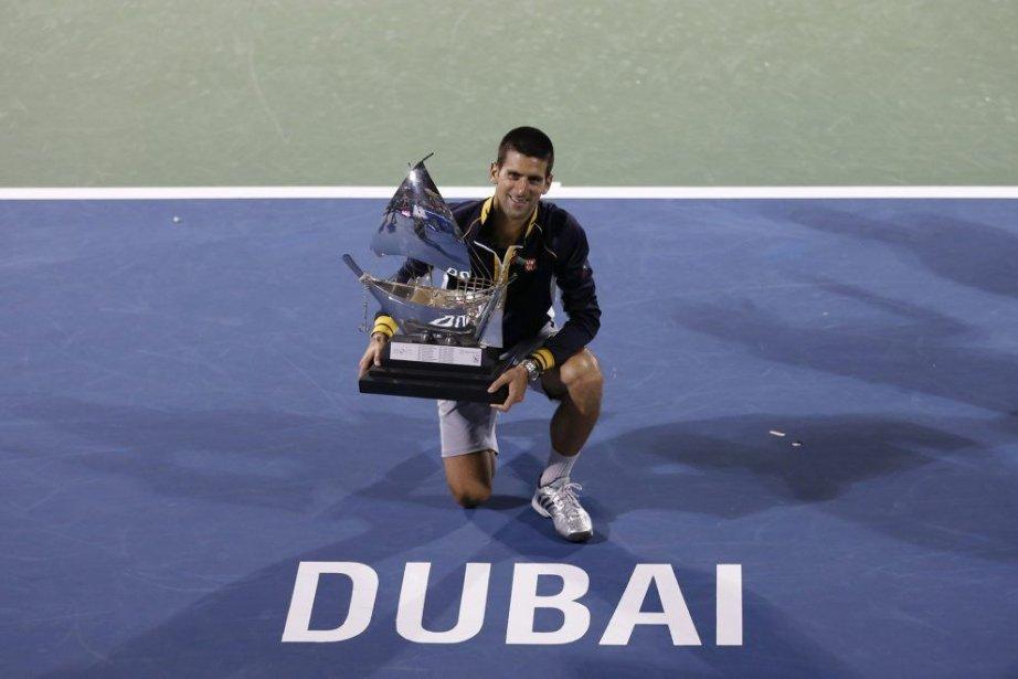 Novak Djokovic... (Photo Ahmed Jadallah, Reuters)