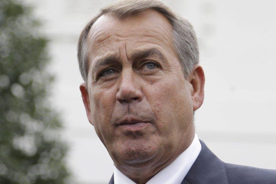 Le chef de la majorité républicaine à la... (Photo Carolyn Kaster, Associated Press)