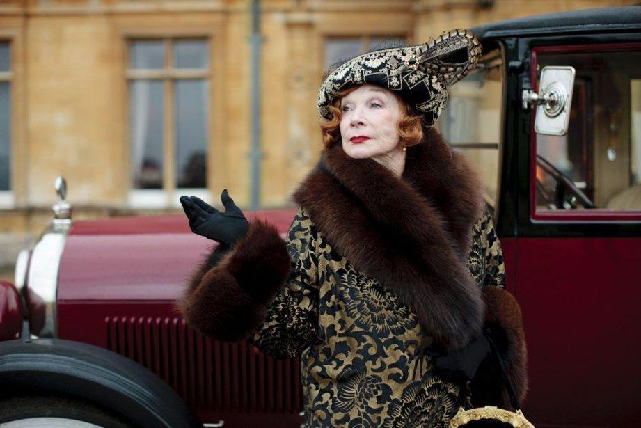 Shirley MacLaine avait fait sa première apparition dansDownton... (Photo Nick Briggs, AP)