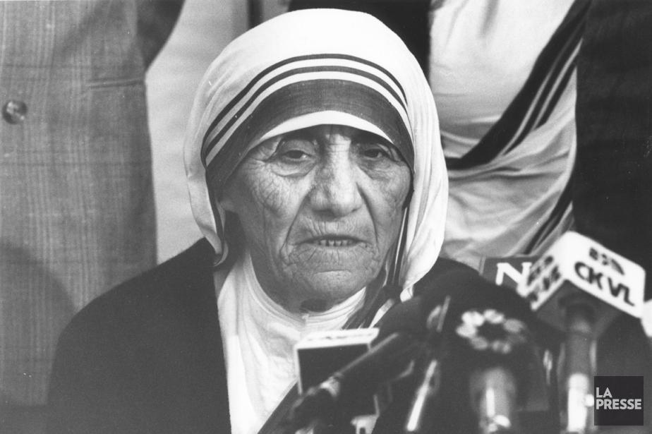 Pour mère Teresa,  la pauvreté, la souffrance... (PHOTO ARMAND TROTTIER, ARCHIVES LA PRESSE)