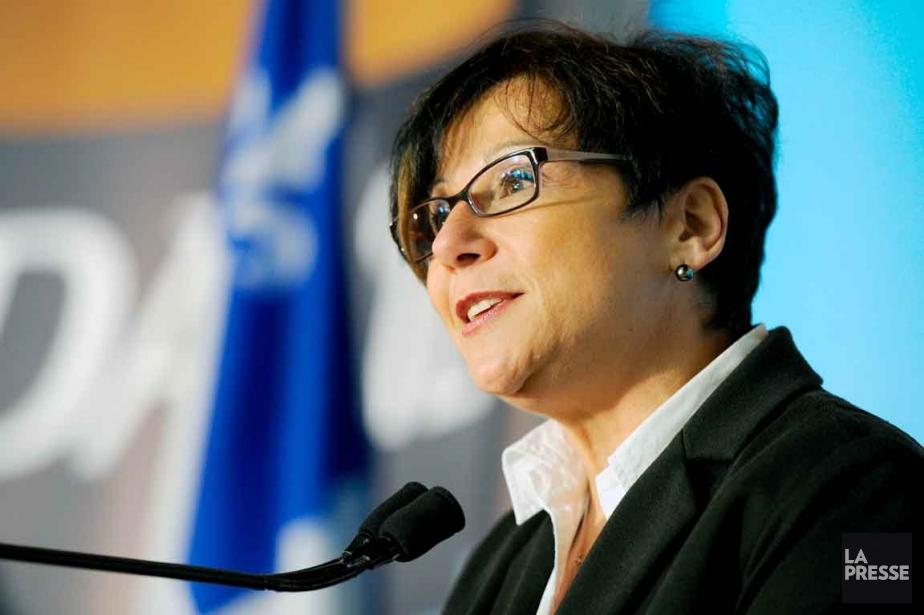 La ministre déléguée à la politique industrielle, Élaine... (Photothèque Le Soleil, Erick Labbé)