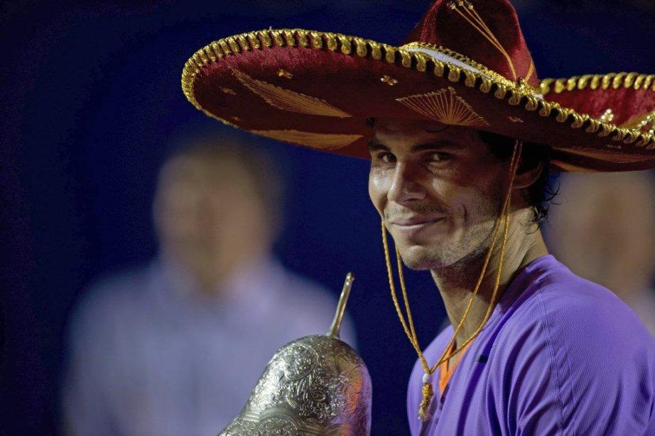Rafael Nadal... (PHOTO YURI CORTEZ, AFP)
