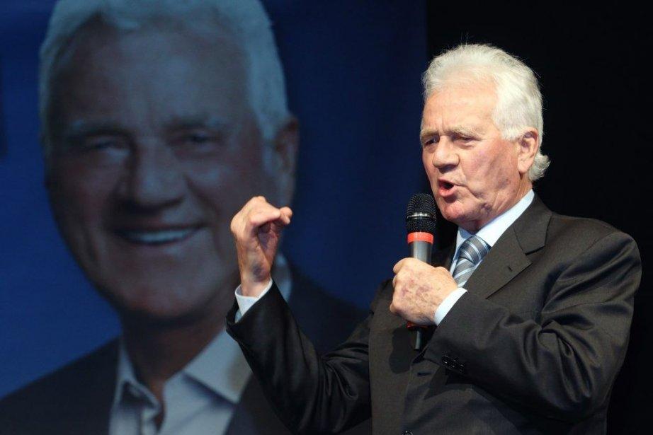 Le milliardaire austro-canadien Frank Stronach, à 80 ans,... (Photo Reuters)
