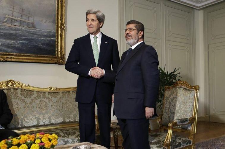 Le message de John Kerry semblait toutefois ne... (Photo AP)