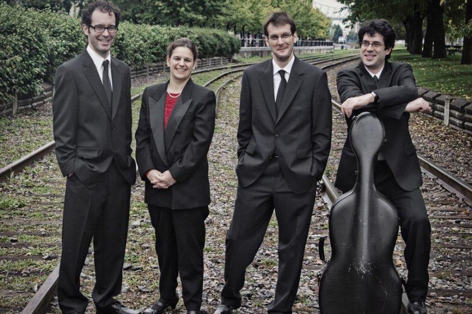 Le Quatuor Molinari... (Photo : archives)