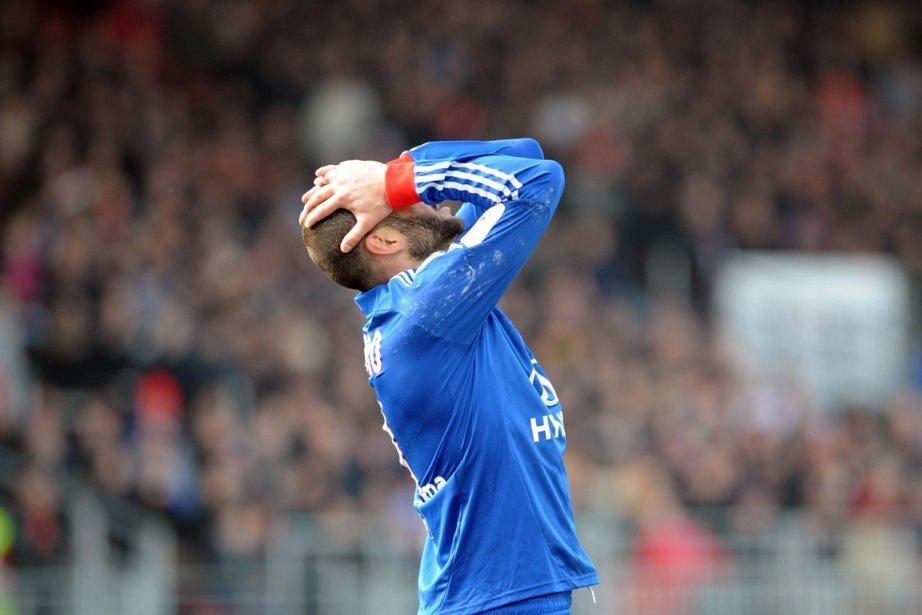 L'attaquant Lisandro Lopez, de Lyon.... (Photo : Fred Tanneau, AFP)