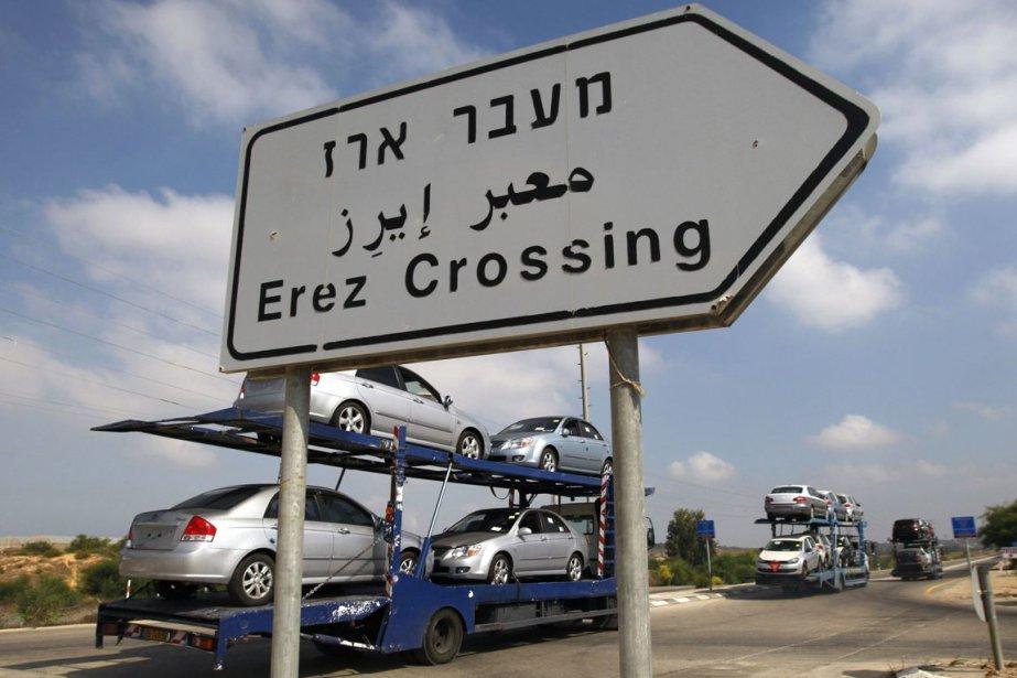 Le passage d'Erez, destiné aux personnes, reprendra lui... (Photo Amir Cohen, REUTERS)