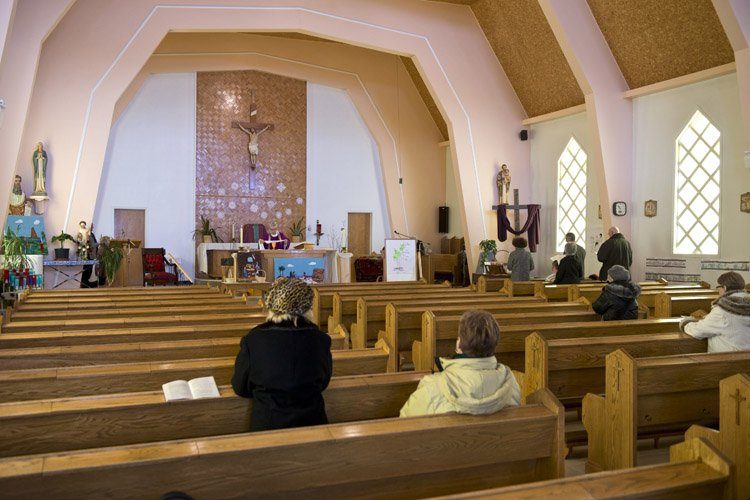 La messe de dimanche n'a pas été célébrée... (Photo: PC)