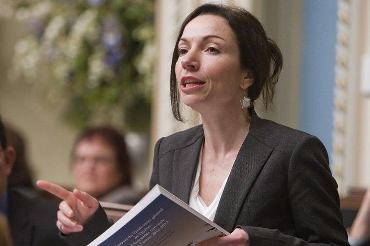 La ministre des Ressources naturelles, Martine Ouellet, voudrait... (Photo: PC)