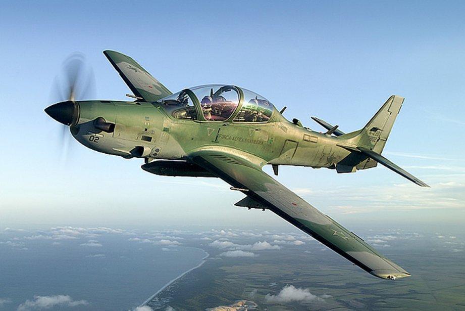 L'USAF a plutôt choisi le Super Tucano, un... (Photo fournie par Embraer)