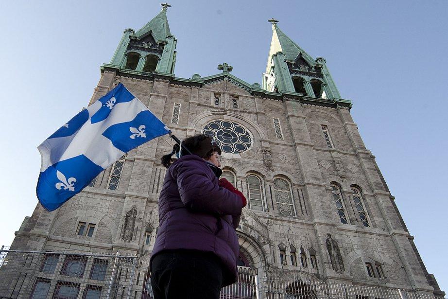 L'église du Très-Saint-Nom-de-Jésus pourrait être la première église... (Photo: Robert Skinner, La Presse)