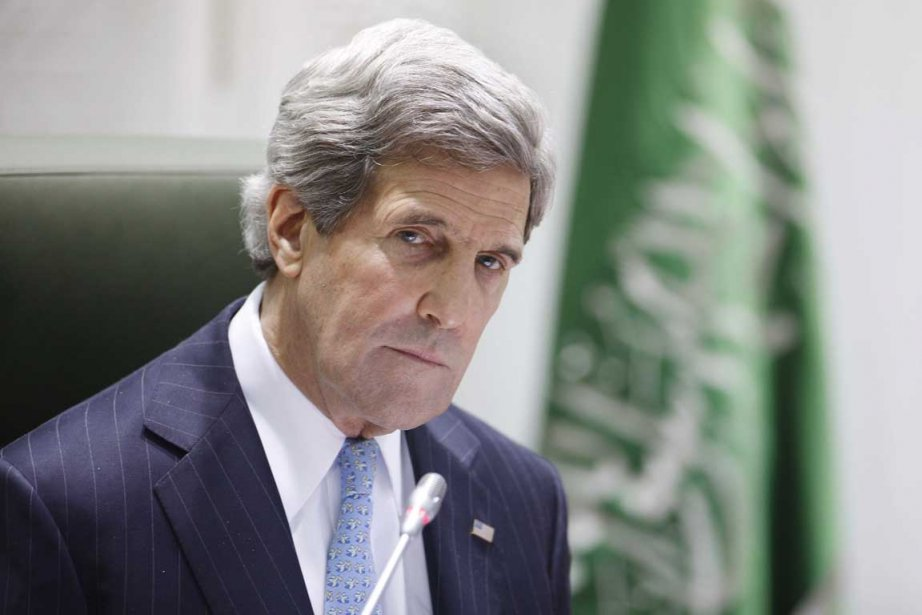 John Kerry a profité de son passage en... (PHOTO AFP)