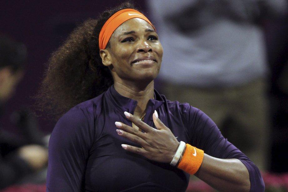 La numéro 1 mondiale Serena Williams.... (Photo Osama Faisal, AP)