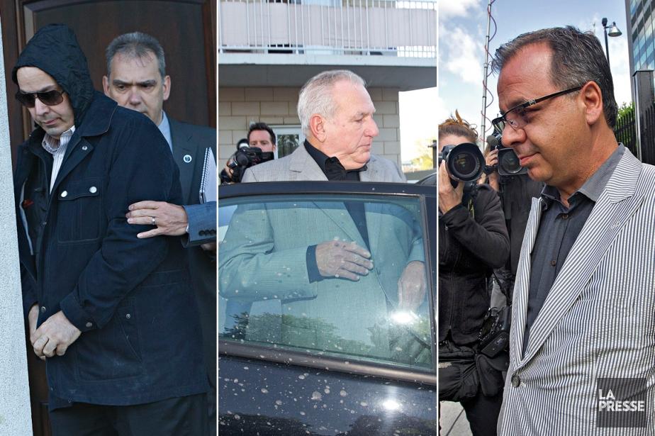 Frank  Zampino, Bernard Trépanier et Paolo Catania... (Photos: Patrick Sanfaçon, archives La Presse)