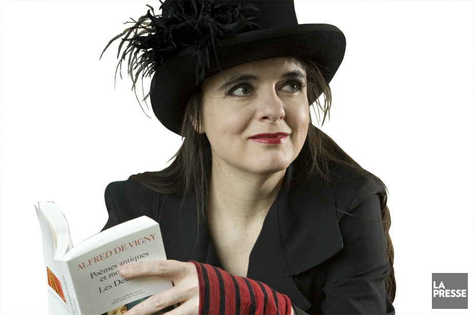 Amélie Nothomb... (PHOTO DAVID BOILY, ARCHIVES LA PRESSE)