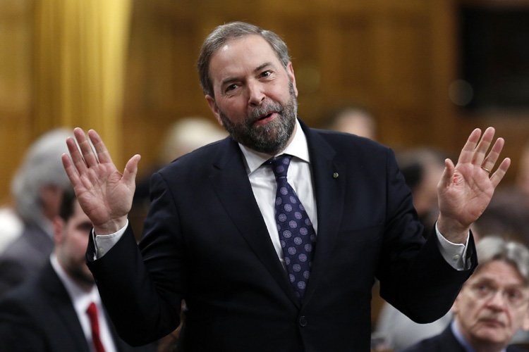 Thomas Mulcair... (Photo: Reuters)