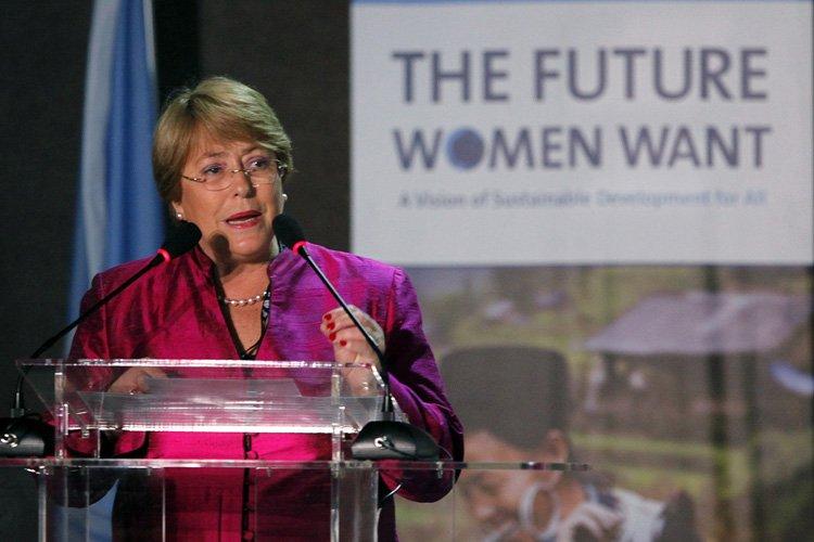 La directrice exécutive d'ONU Femmes, Michelle Bachelet.... (Photo: Reuters)
