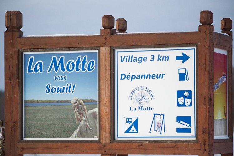 Les autorités du village s'attendent à ce que... (Photo: La Voix de l'Est)