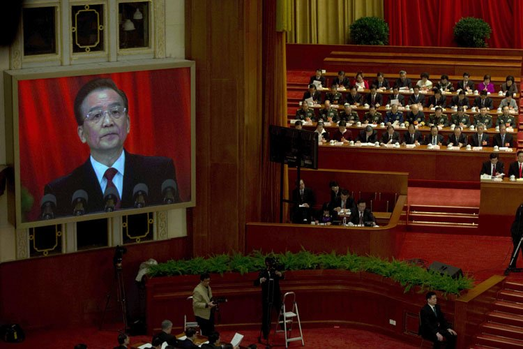 Wen Jiabao a vanté les succès chinois de... (Photo: AP)