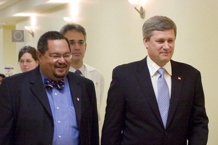 Stephen Harper avait nomméArthur Porterprésident du Comité de... (Photo: Armand Trottier, archives La Presse)