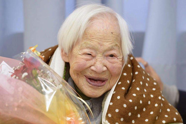 Misao Okawa... (Photo: AP)