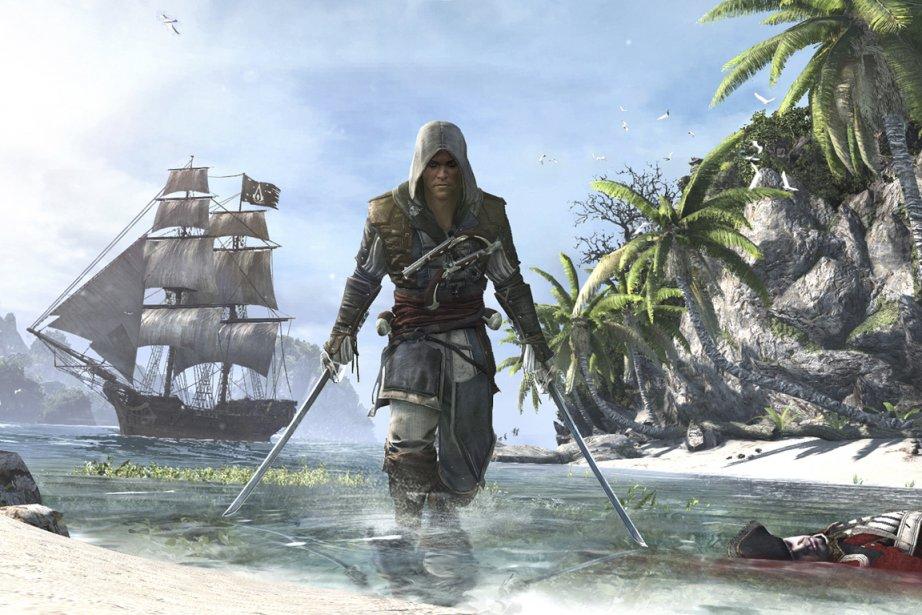 Le héros du nouvel Assassin'sCreedsera Edward Kenway, pirate... (Photo fournie par Ubisoft)