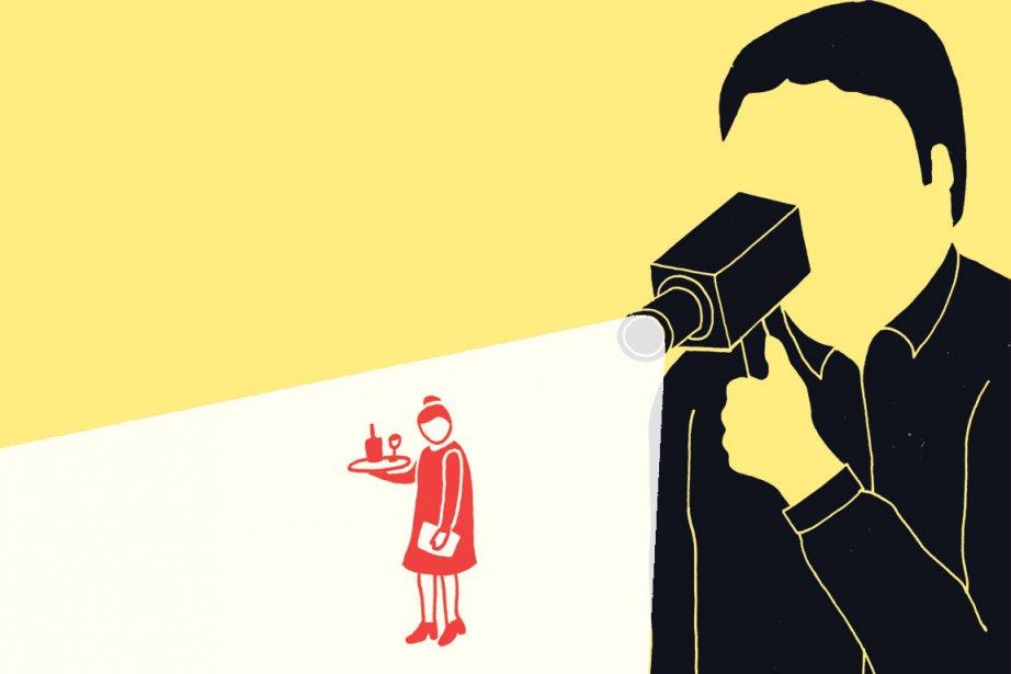 Elles sont caissières,... (Illustration: Charlotte Demers-Labrecque, La Presse)