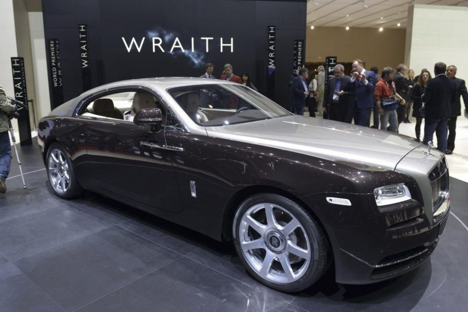 Rolls Royce Wraith... (Photo Sebastien Feval, Agence France-Presse)