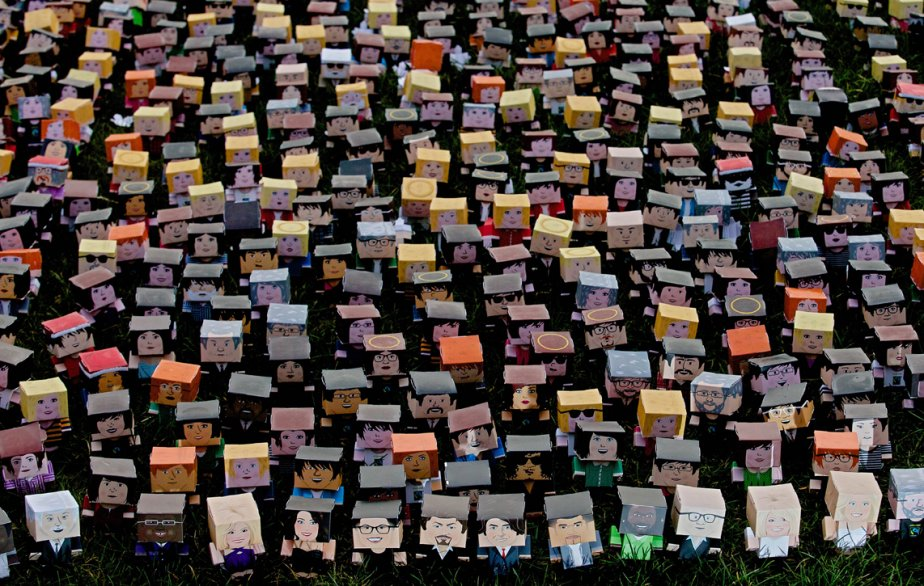 Des milliers de manifestants se sont réunis devant le Parlement britannique afin de demander au premier ministre, David Cameron, de recentrer sa politique agricole internationale autour des petits exploitants agricoles. | 5 mars 2013