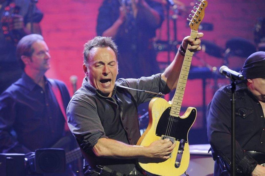 Bruce Springsteen et le E Street Band en... (Photo: archives AP)