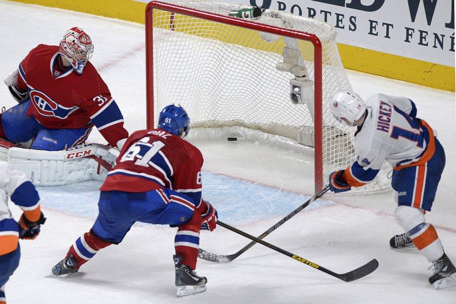 Les Islanders de New York ont comblé deux... (Photo Graham Hughes, PC)