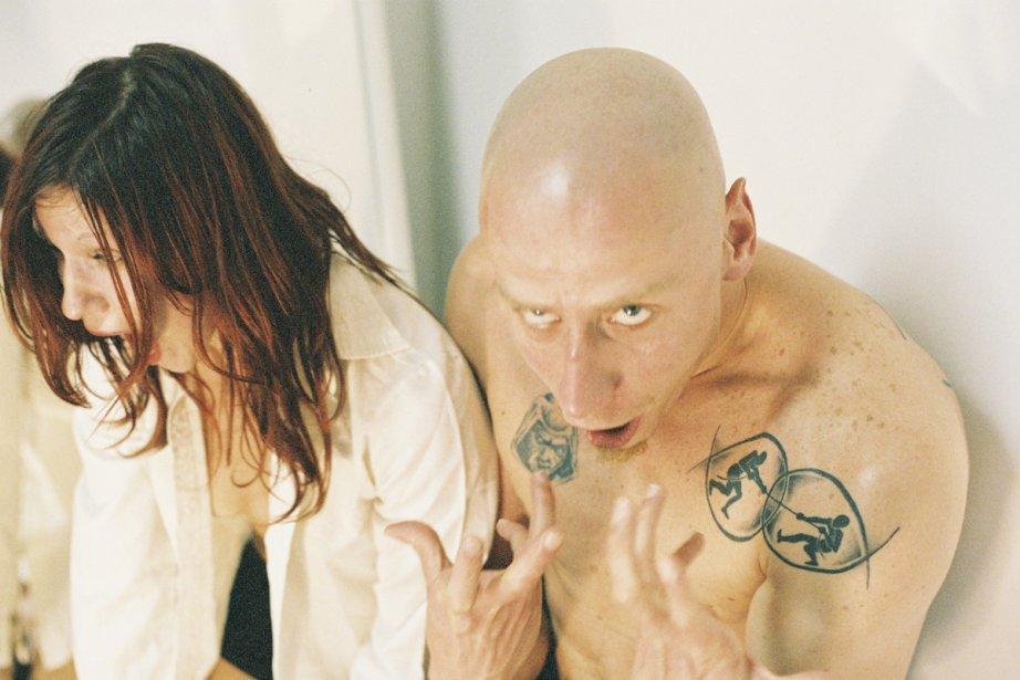 Lucie Petruová et Guilherme Miotto dans T'Bernadette.... (Photo: Ernest Potters, fournie par Danse Danse)