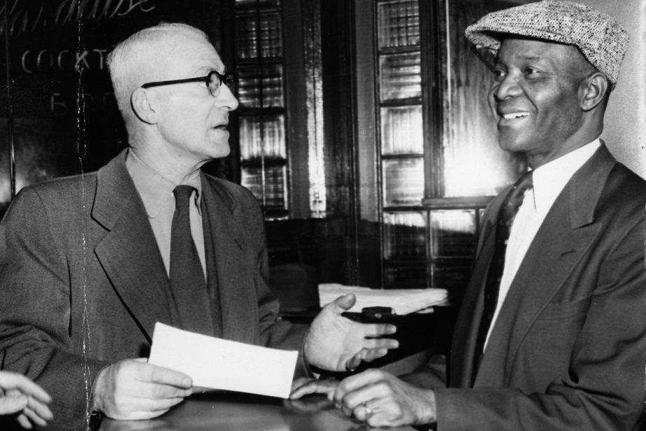 Dans cette photo de 1953, Rufus Rockhead (à... (Photo: archives La Presse)