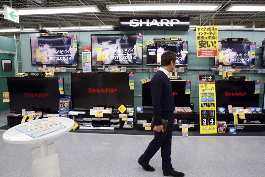 L'action Sharp s'envolait de 16 % mercredi en... (PHOTO YUYA SHINO, REUTERS)
