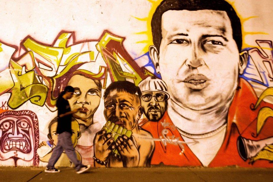 La diaspora vénézuélienne à Montréal est inquiète. L'avenir et la... (Photo AFP)