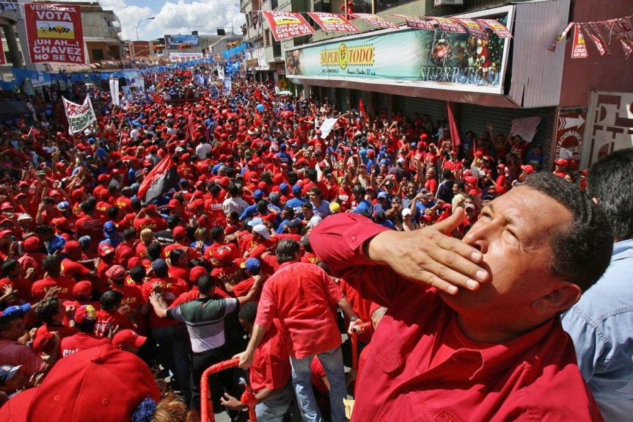 Hugo Chavez s'est éteint hier à l'âge de... (PHOTO ARCHIVES AFP)