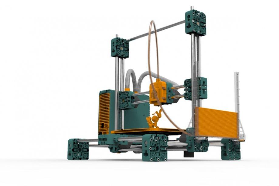De tous les objets futuristes au Cebit, l'imprimante en trois dimensions, qui...