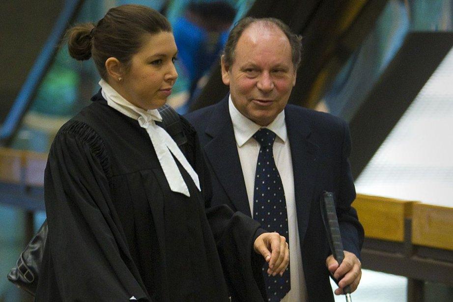 Angelo Cecere, à droite.... (Photo: André Pichette, La Presse)