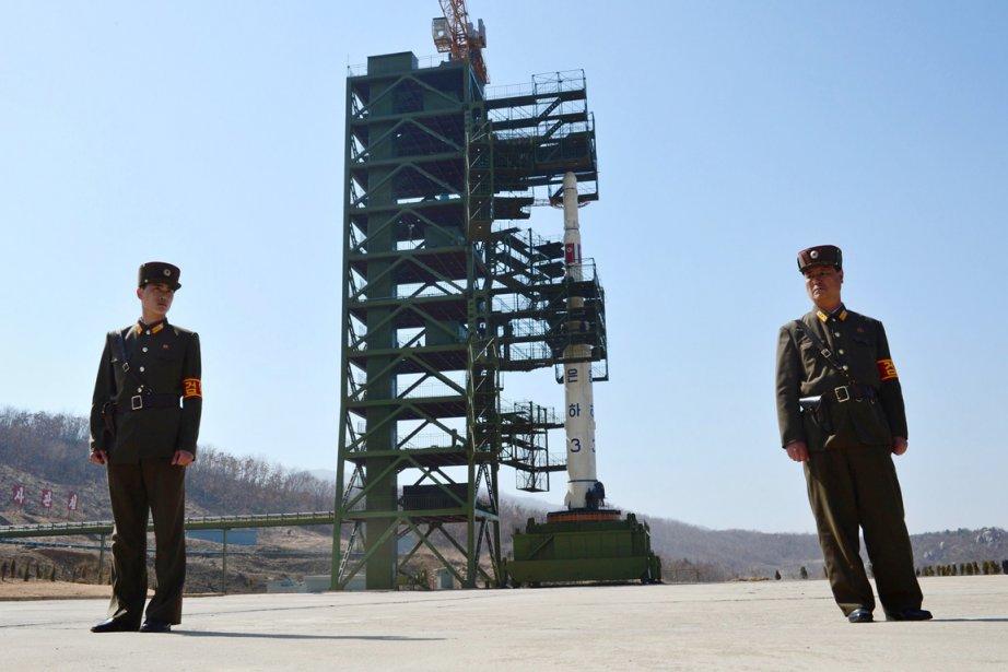 Les précédents tirs de fusée ou de missiles... (PHOTO PEDRO UGARTE, ARCHIVES AFP)