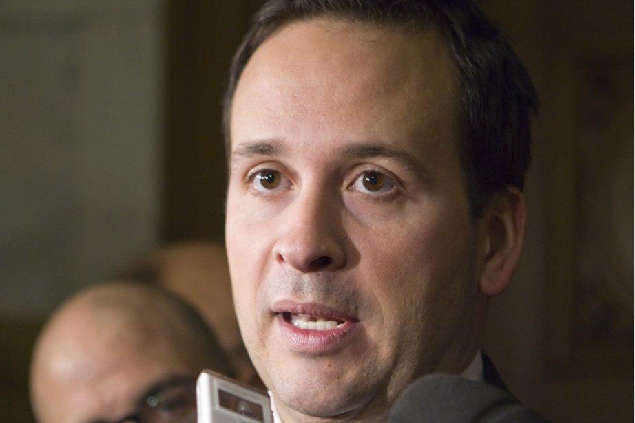Alexandre Cloutier,le ministre des Affaires intergouvernementales canadiennes.... (PHOTO CLÉMENT ALLARD, PC)