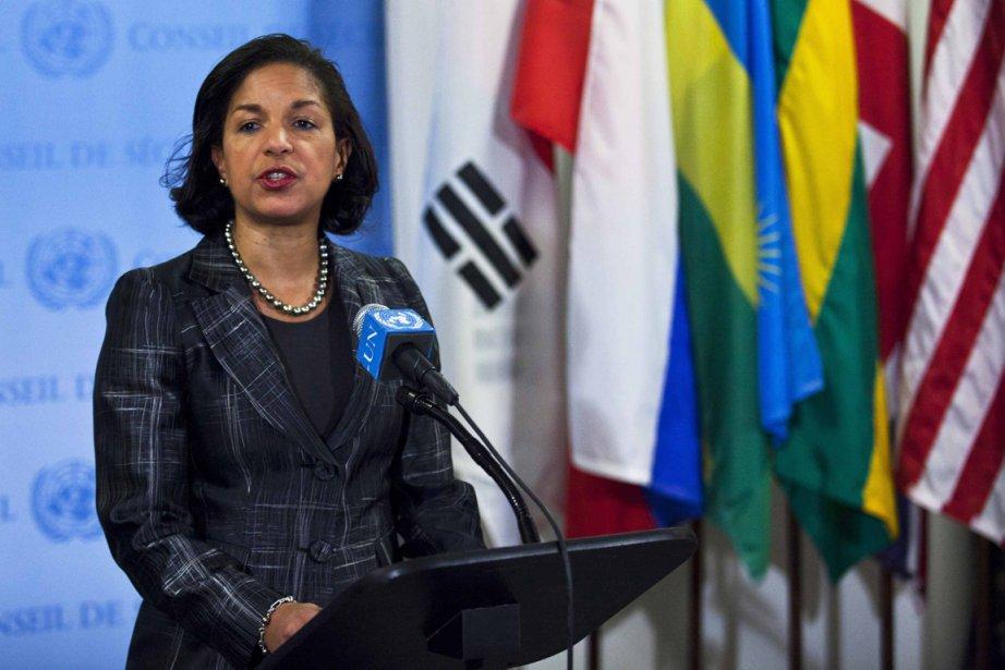 Selon l'ambassadrice américaine à l'ONU Susan Rice, cette... (PHOTO EDUARDO MUNOZ, REUTERS)