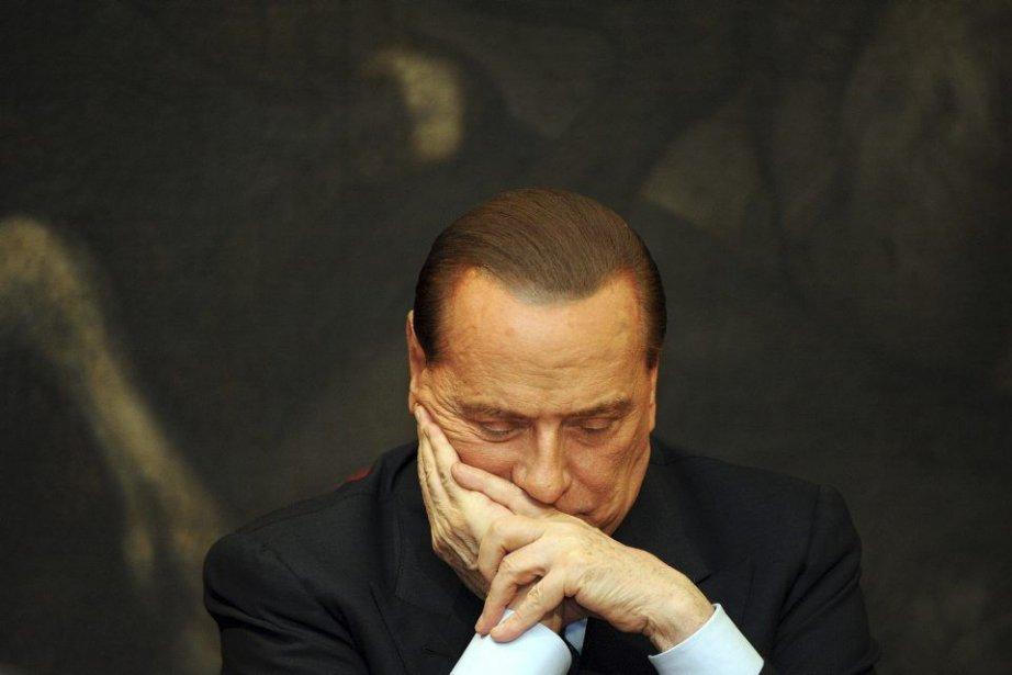 L'ex-premier ministre italien Silvio Berlusconi a été condamné,... (PHOTO ANDREAS SOLARO, ARCHIVES AFP)
