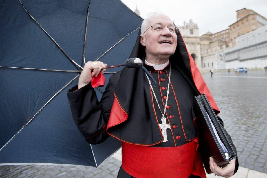 Le cardinal Marc Ouellet, qui demeure dans le...