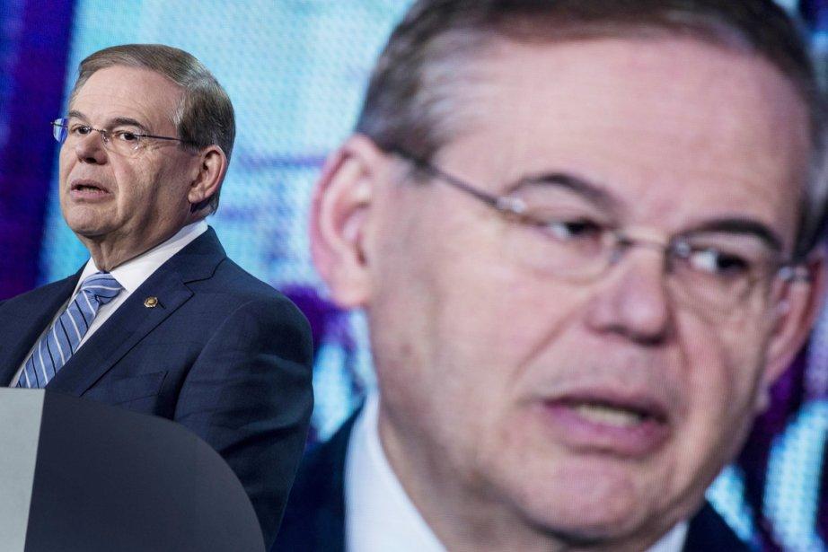À Washington, le sénateur Robert Menendez, président du... (PHOTO BRENDAN SMIALOWSKI, AFP)