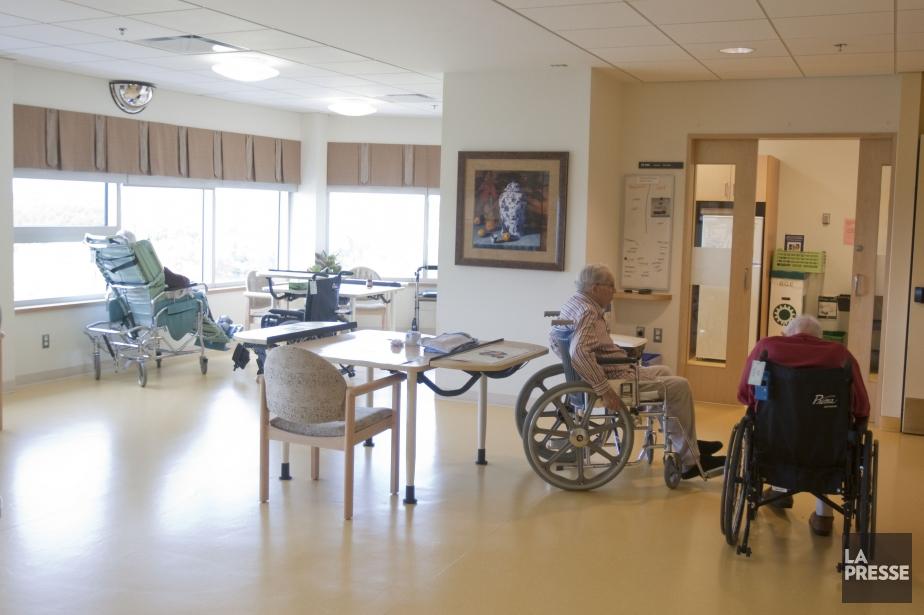 L'Hôpital des Anciens Combattants comprend environs 460 lits... (Photo Ivanoh Demers, archives La Presse)