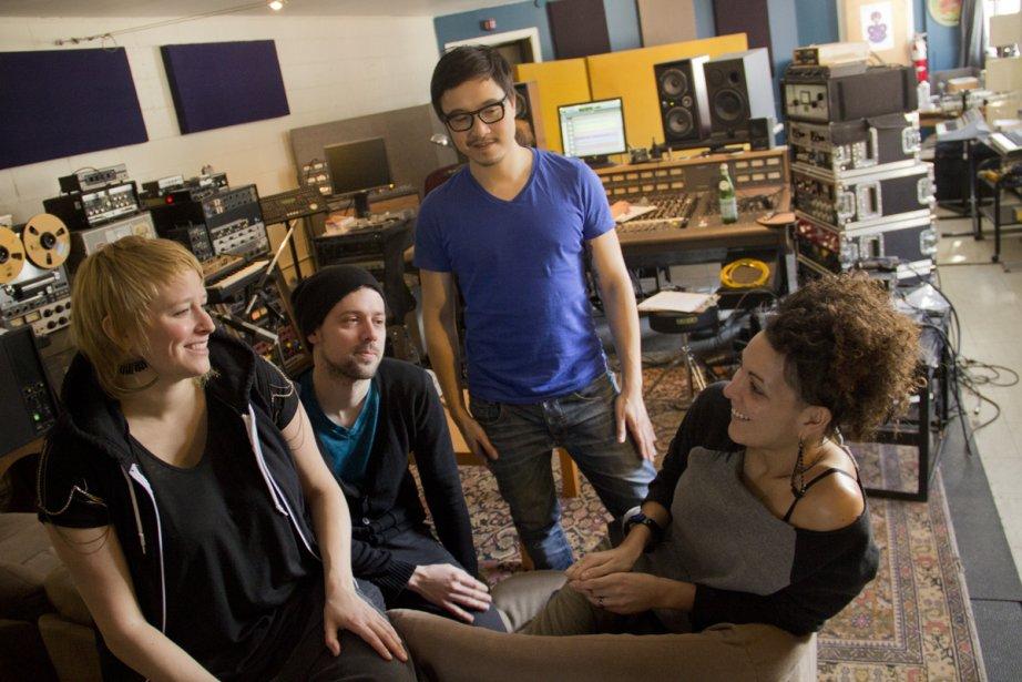 Le groupe Random Recipe enregistre actuellement son troisième... (Photo: Frédéric Guiro, La Presse)