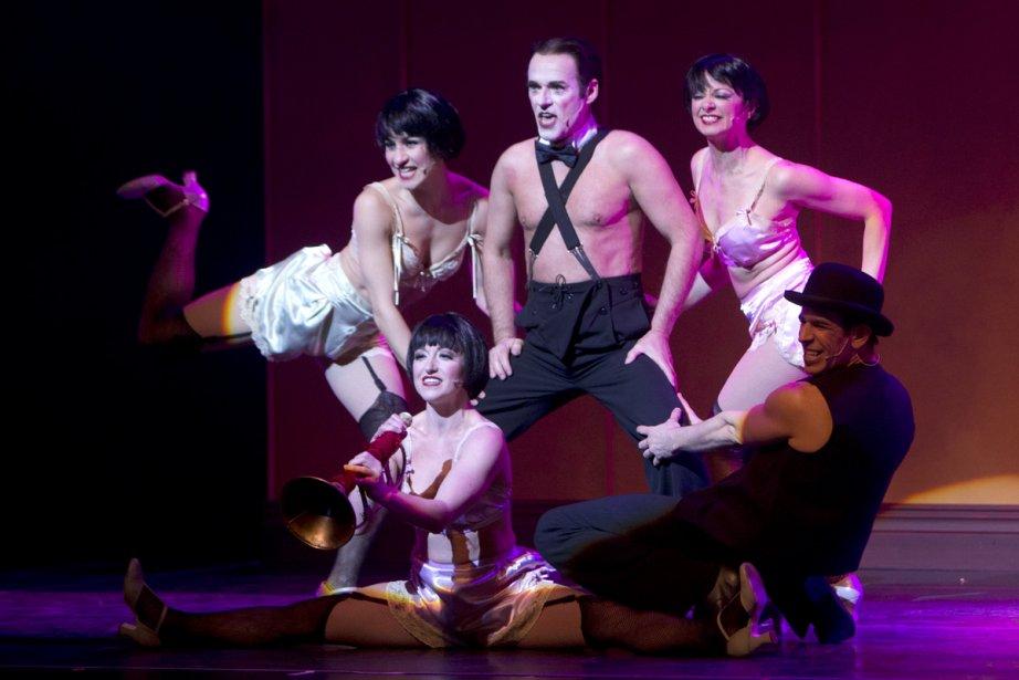 Toute la troupe de Cabaret était réunie,... (Photo: Robert Skinner, La Presse)