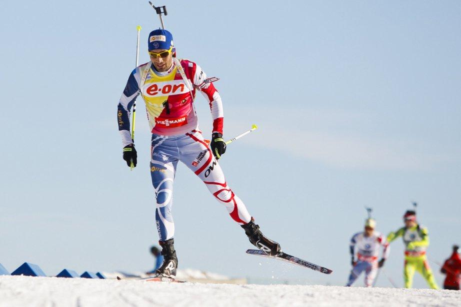 Martin Fourcade... (Photo Fredrik Varfjell, AFP)