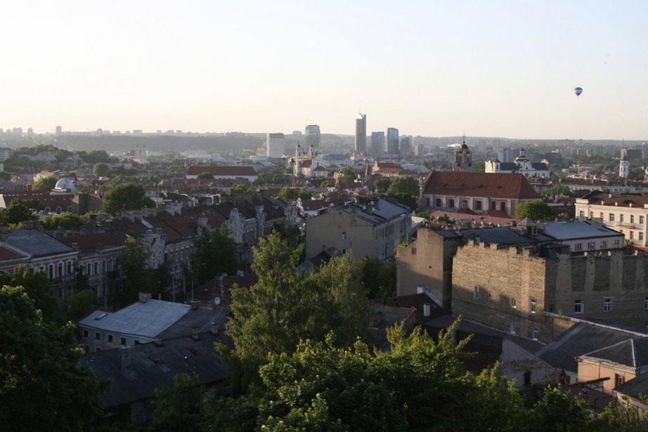 La ville de Vilnius, capitale de la Lituanie... (Photo d'archives Frédérick Lavoie, collaboration spéciale)