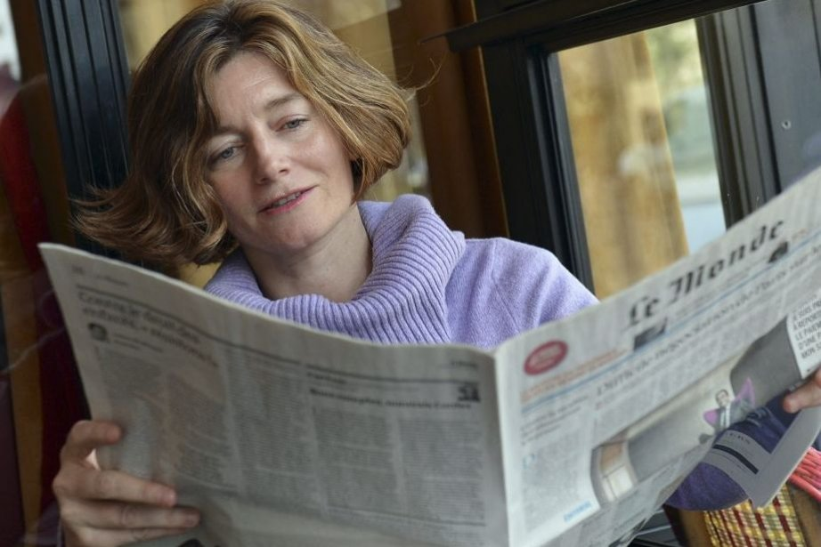 Natalie Nougayrède, nouvelle directrice du journal Le Monde.... (Photo: AFP)